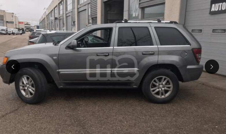 JEEP GRAND CHEROKEE 3.0 V6 CRD OVERLAND lleno